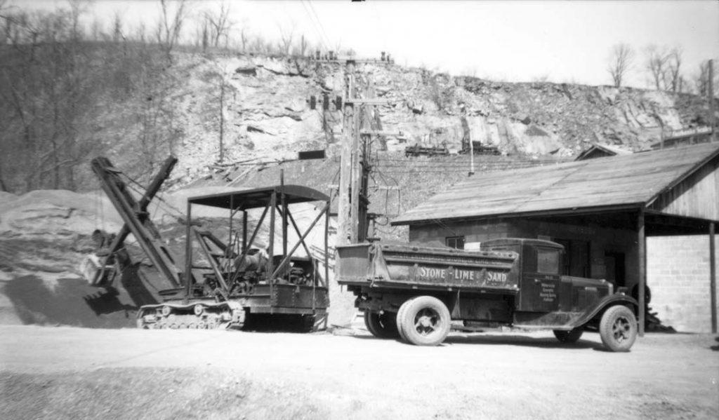History New Enterprise Stone Amp Lime Co Inc